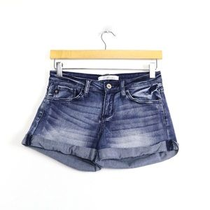 KanCan Los Angeles denim shorts 3 25 dark blue